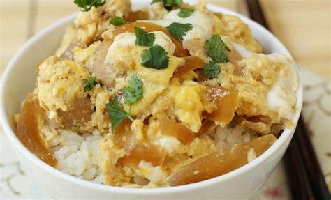 oyakodon japanese chicken and egg rice bowl recipe oyakodon japanese chicken egg rice bowl recipes