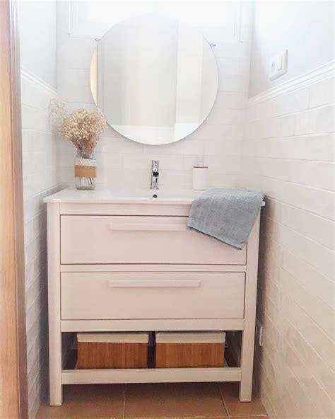 mueble hemnes ikea mueble de ba 241 o hemnes sin caj 243 n y con otros tiradores