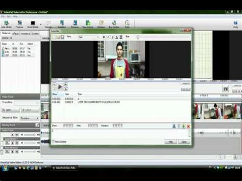 tutorial penggunaan videopad video editor tutorial videopad camara lenta rapida how to make do