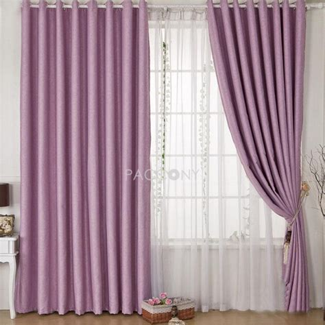 Lavender Blackout Curtains Lavender Blackout Curtains Lavender Solid Classic Blackout Curtain 5 Kinds Of Purple Blackout