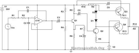 Infinity Powersuplay 400w 100w subwoofer lifier circuit diagram working and