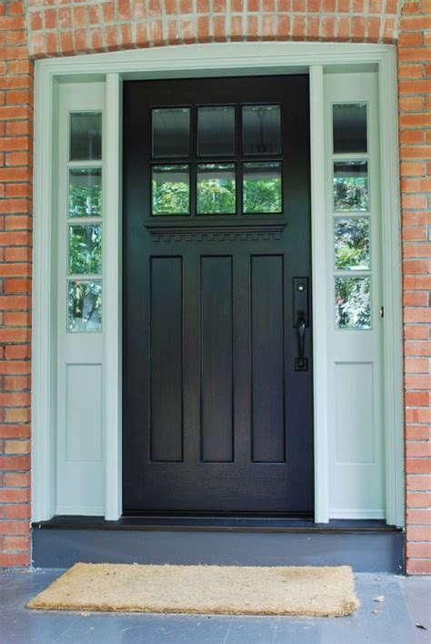 Three Classic Front Door Designs That Never Go Out Of Single Exterior Door