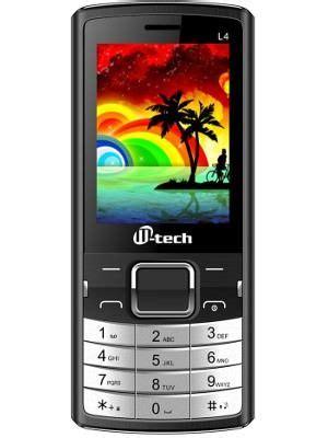 Tv Mobil M Tech m tech l4 price in india specifications comparison