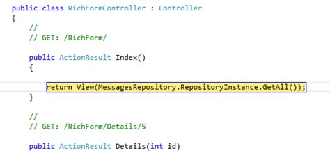 repository pattern gang of four the asp net mvc club singleton data repository gang of