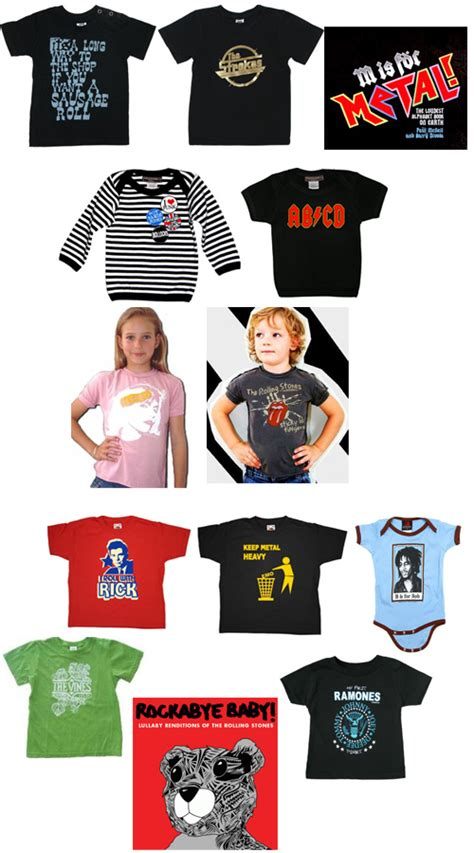 Tees Band The Vines Btv01 rock n roll pre school band tees for the hip set