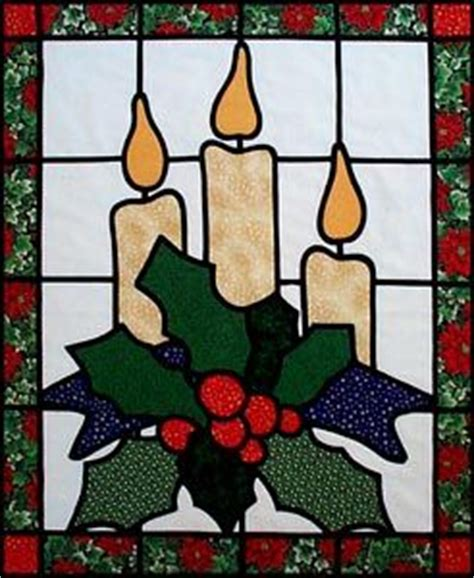 candlestick window pattern stains christmas candles and stained glass on pinterest