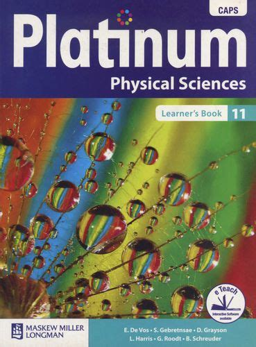 platinum physical science grade  learners book
