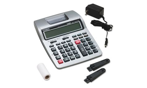 Paket Casio Hr 100 Tm Adaptor casio hr 100tm two color portable printing calculator