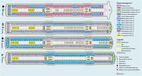 aidaprima kabinenplan mein schiff 5 bewertungen reiseberichte bilder