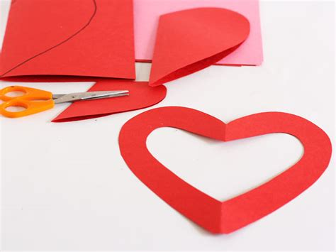 How To Make A Chain Of Hearts Out Of Paper - how to make a chain of hearts out of paper 28 images