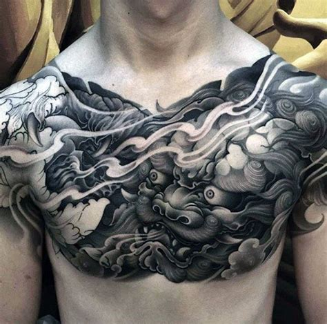 chest tattoo unique 50 unique chest tattoos for men masculine design ideas