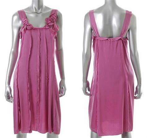 Dress Anak Impor Big Flower Soft Purple Dress Anak Impor elie tahari pink silk estella dress us 12 uk 16 it