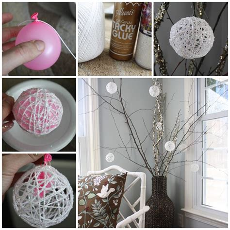 home made christmas decoration wonderful diy 30 homemade christmas ornaments