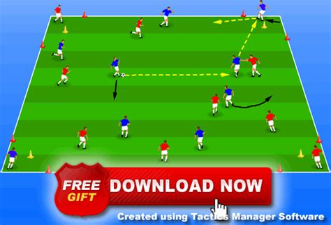 improve possession and speed of play soccer coaching