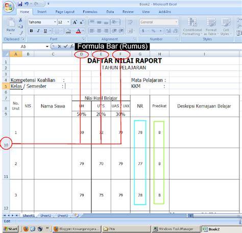 tips membuat jadwal kegiatan cara membuat agenda kegiatan di excel cara membuat nilai
