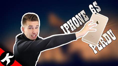 comment jai perdu  iphone  youtube