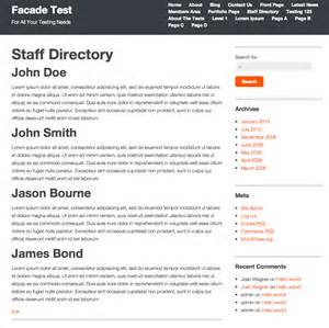 Staff Bio Template by Best Photos Of Small Biography Templates Professional