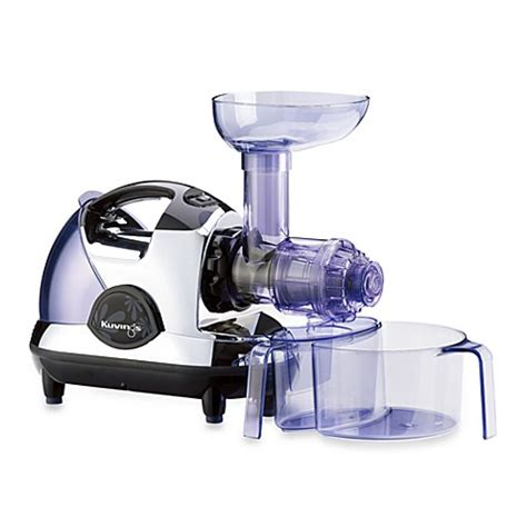 bed bath and beyond juicers kuvings 174 masticating slow juicer in chrome bed bath beyond