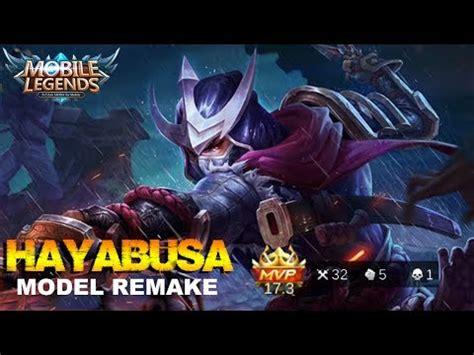 Mobile Legend Hayabusa The Blues mobile legends shadow of iga hayabusa model remake gameplay mvp