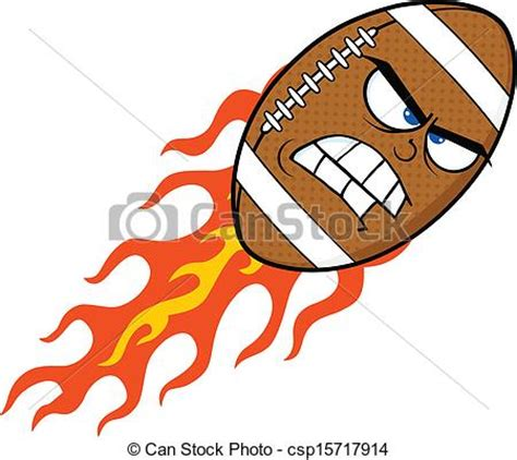Free Clipart Flaming Soccer by Angry Flaming Football Angry Flaming American
