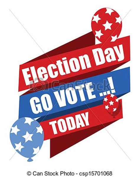 go vote images election day clip cliparts