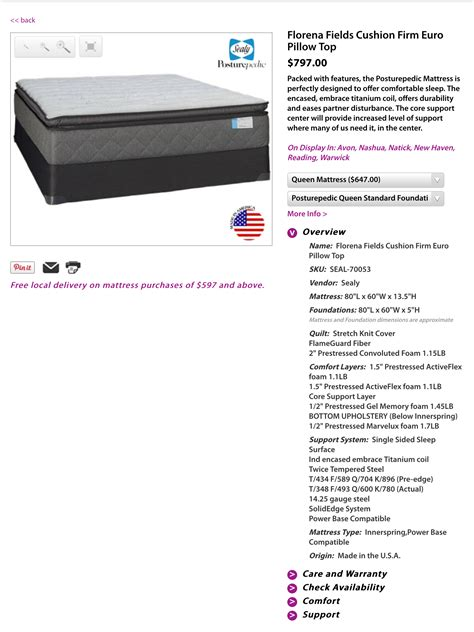 Mattress Warranty Sealy by Top 374 Complaints And Reviews About Sealy Mattress