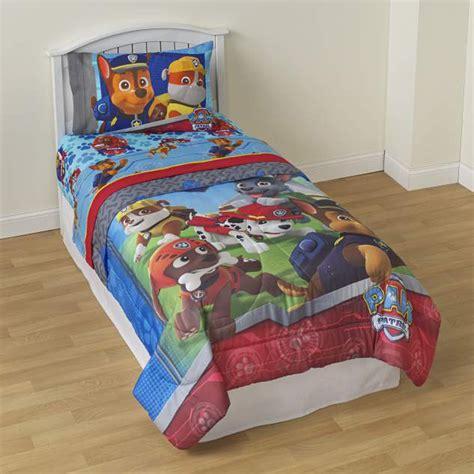 paw patrol bed nickelodeon paw patrol twin comforter