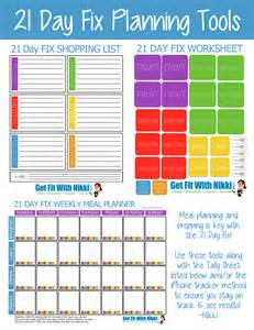 21 Day Fix Meal Plan Template by 21 Day Fix Meal Planning Tips My Favorite Foods