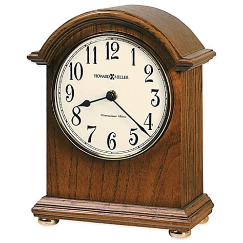 bed bath beyond clocks howard miller myra mantel clock bed bath beyond