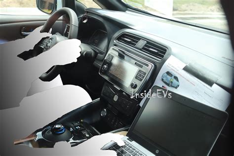 nissan leaf interior new 2018 nissan leaf spyshots interior and exterior revealed
