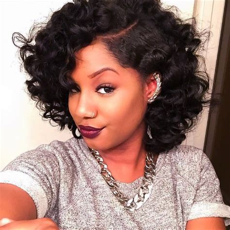 how to bring out curls in black hair 20 bob styles that will make you head out and buy some