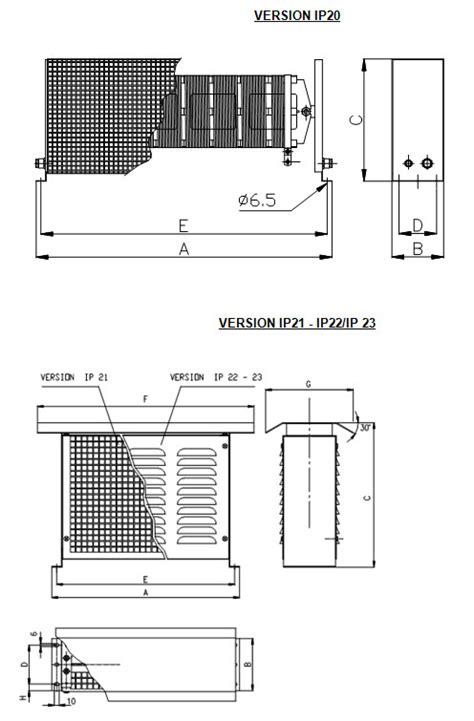 ofel brake resistor italohm power braking resistors model roppe