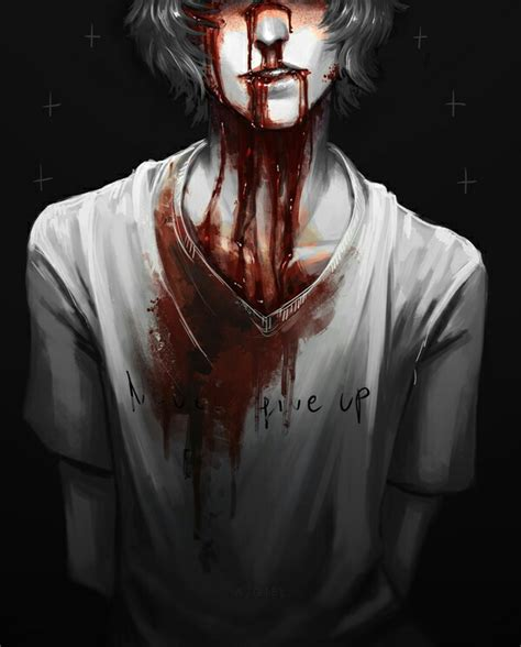 imagenes que lloran sangre anime boy blood drawings pinterest anime and drawings