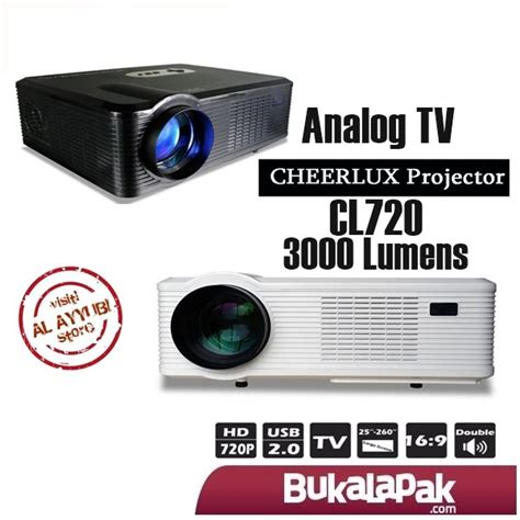 Lu Proyektor Jfashion jual proyektor cheerlux cl720 hd portable led 3000 lumens di lapak al ayyubi bee507