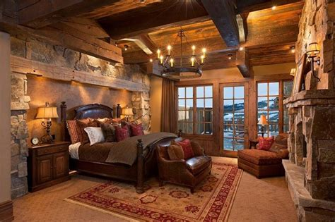 Log Home Bedroom Decorating Ideas 20 Beautiful Rustic Bedroom Ideas