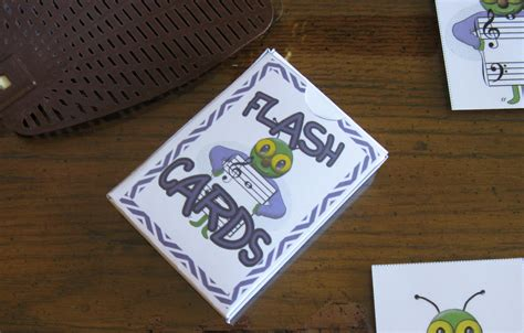 make a flash card a box for flash cards susan paradis piano