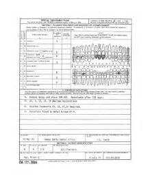 Dental Treatment Plan Template by Figure 2 1 Da Form 3984 Dental Treatment Plan Front