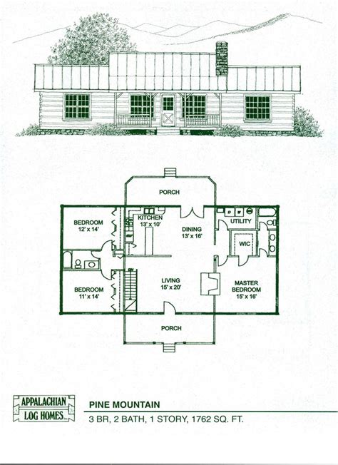 log cabin floor plans with basement log home floor plans log cabin kits appalachian log