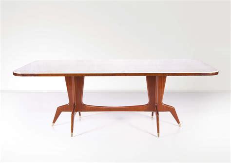 tavolo gio ponti gio ponti tavolo in legno di mogano laccato con piano in