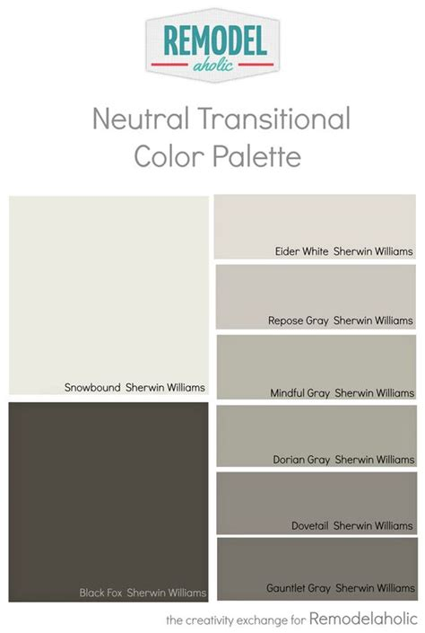 coordinating colors with slate gray whole house paint color palette using one undertone