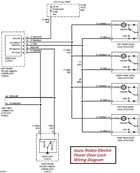 door lock actuator wiring diagram autoloc door popper