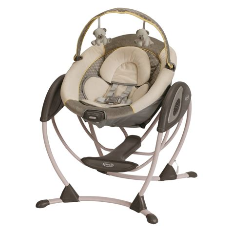 baby swings and gliders com graco glider lx gliding swing peyton