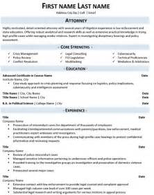 C Level Resume Writing Services by Attorney Resume Sample Amp Template