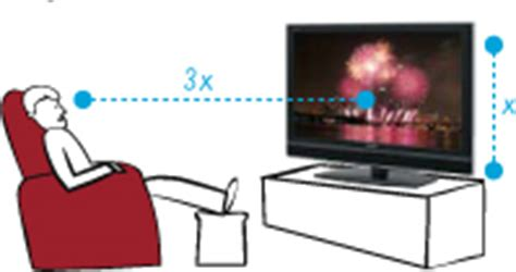 distanza tv led divano distance and tv size