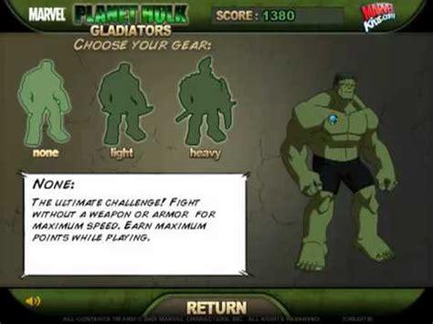 planet hulk gladiators (game trailer) youtube