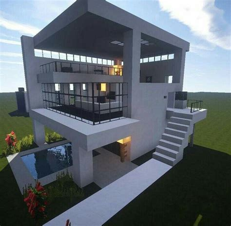 minecraft biome modern house build minecraft