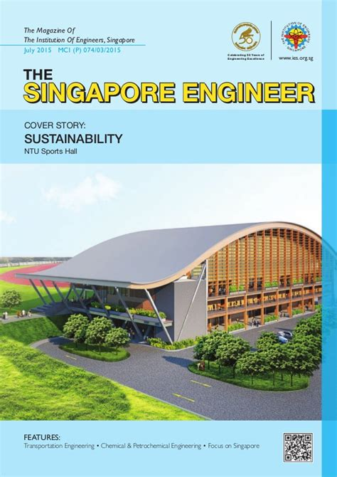 design engineer singapore the singapore engineer ntu sports hall cover story
