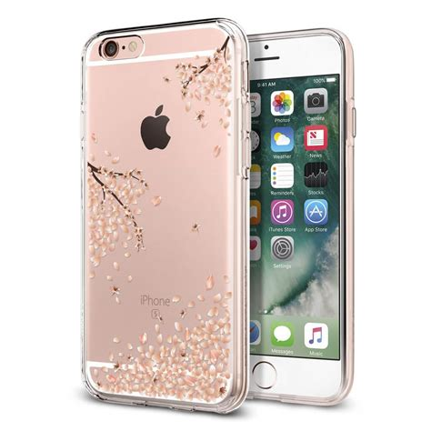 spigen 174 liquid 035cs21219 iphone 6 6s shine blossom spaceboy