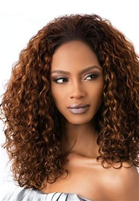 pictures of wet n curly hair styles outre wet n wavy hairstyles pinterest
