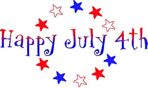 Christian Clipart For July